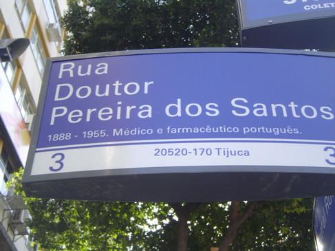 Rua Doutor Pereira dos Santos