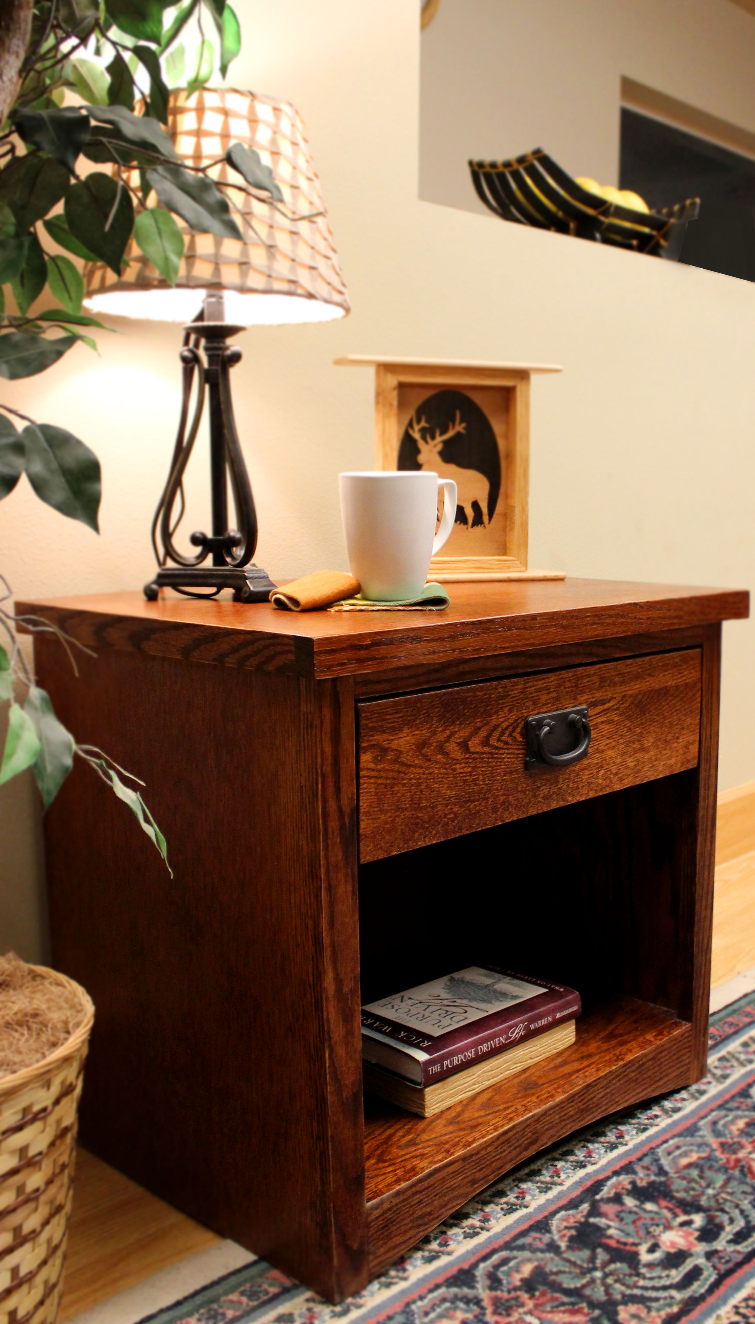 Mission 1-Drawer Nightstand