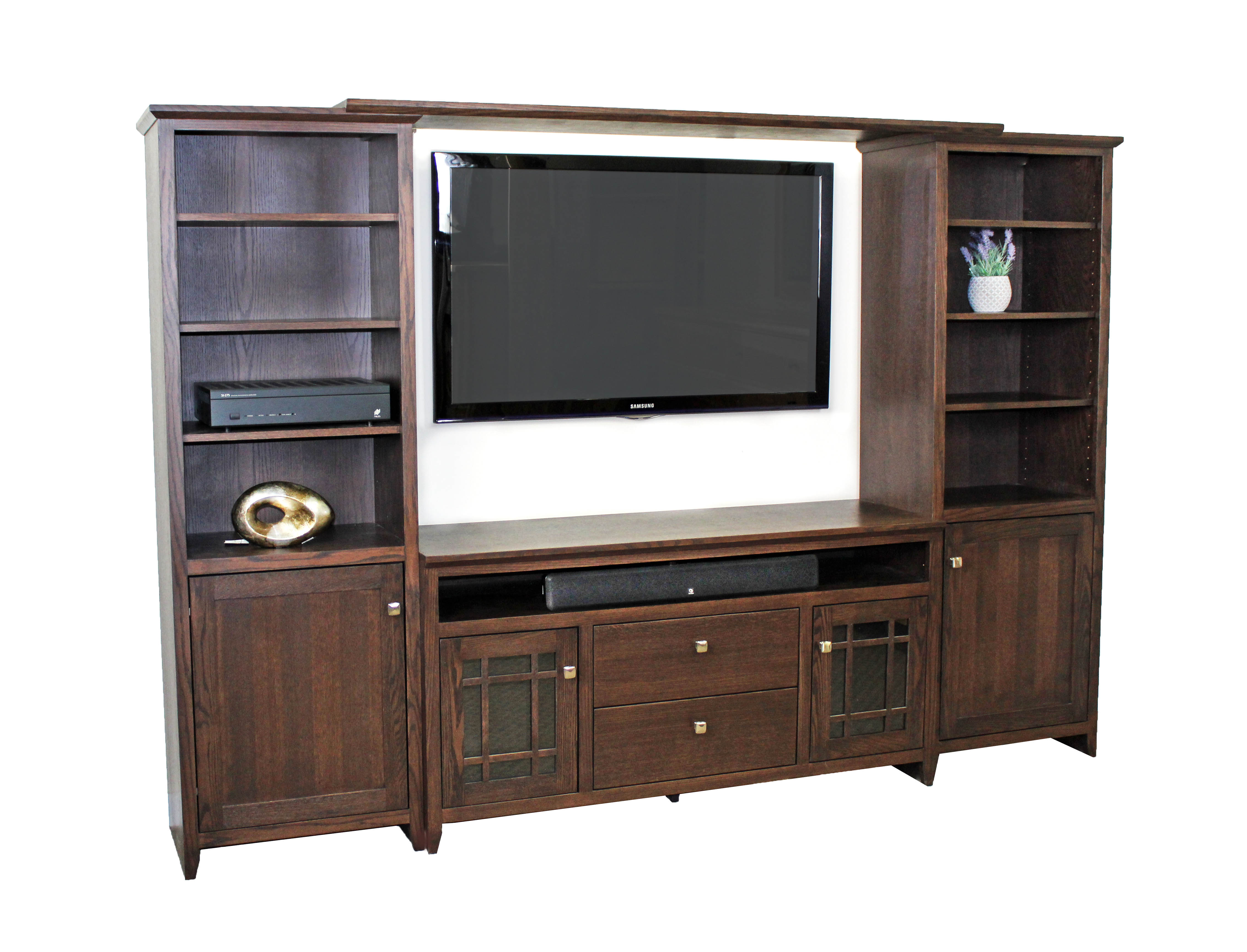 Shaker Entertainment Center