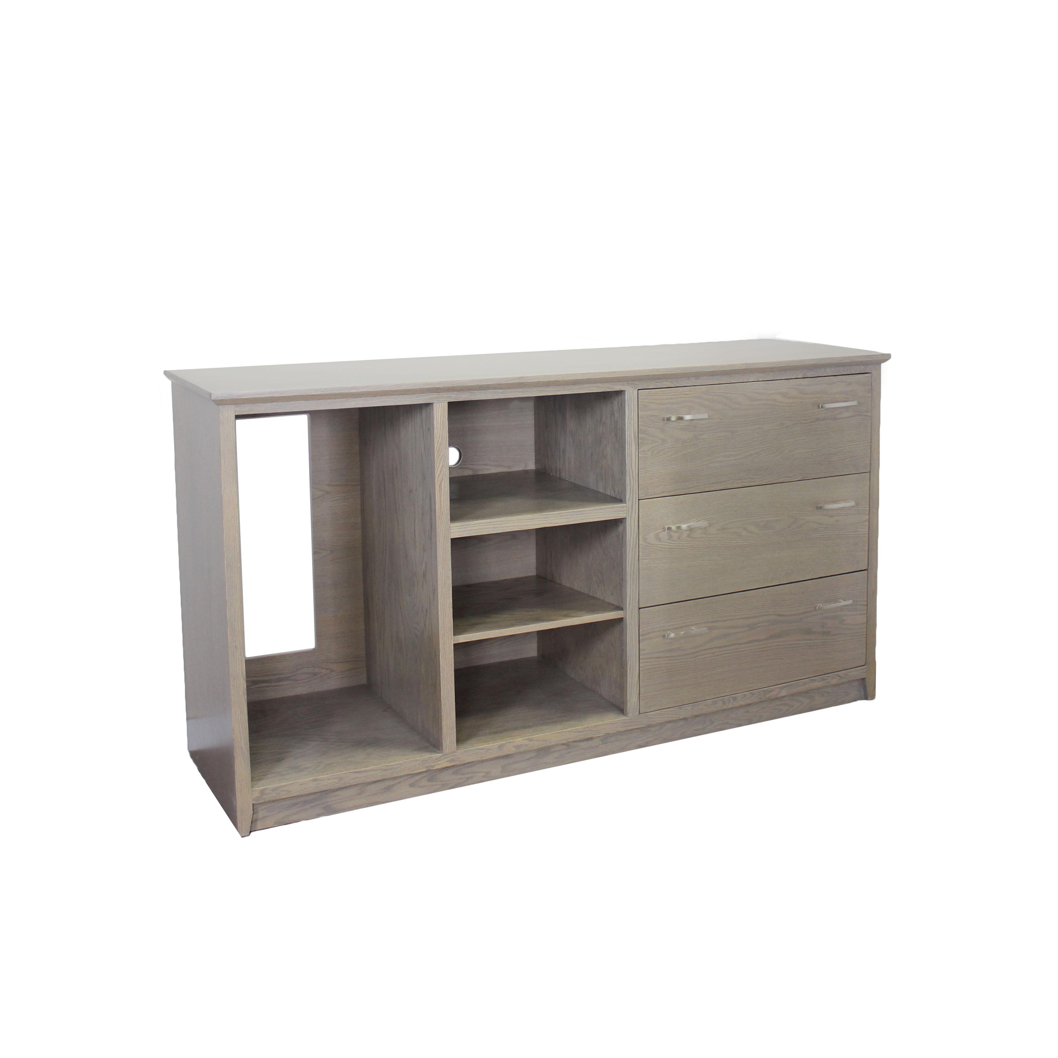 Oak Driftwood Custom Cabinets