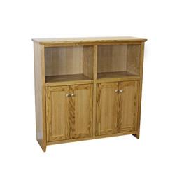 Shaker Oak Medium Bookcases