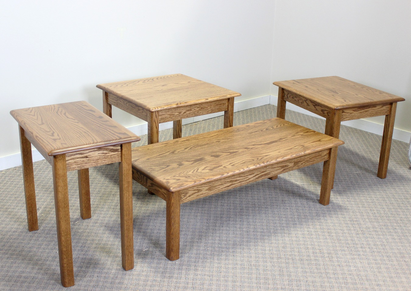 Oak Contemporary Occasional Tables