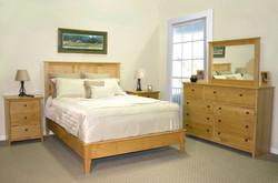 Alder Shaker Bedroom in Natural