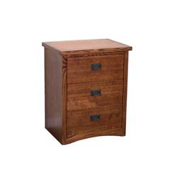 OM1613  3-Drawer Nightstand