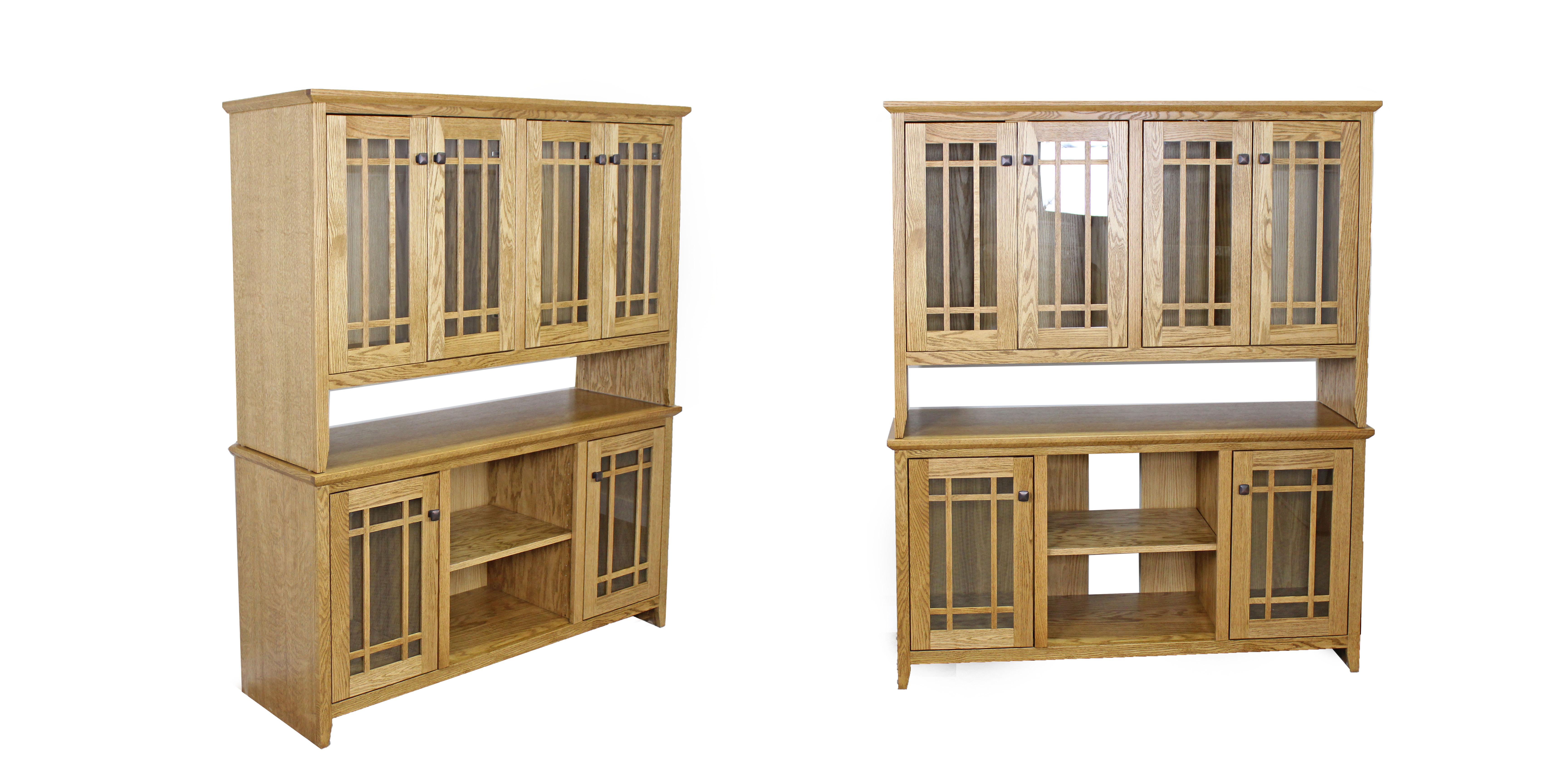 Oak Shaker Custom Cabinet
