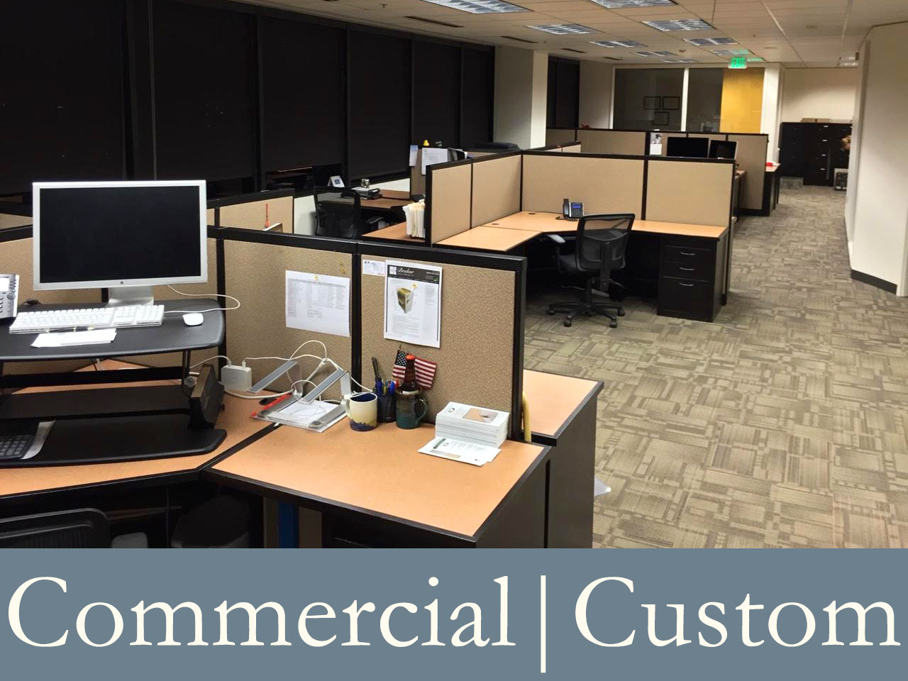 Commercial | Custom Furnishings