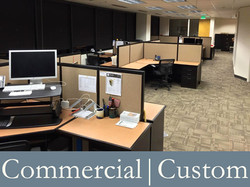 Commercial | Custom Furnishings