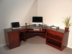 Custom Urban Style Corner Desk