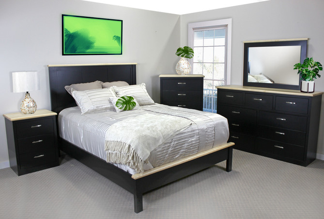 Get Crafty: New Two-tone Bedroom Set
