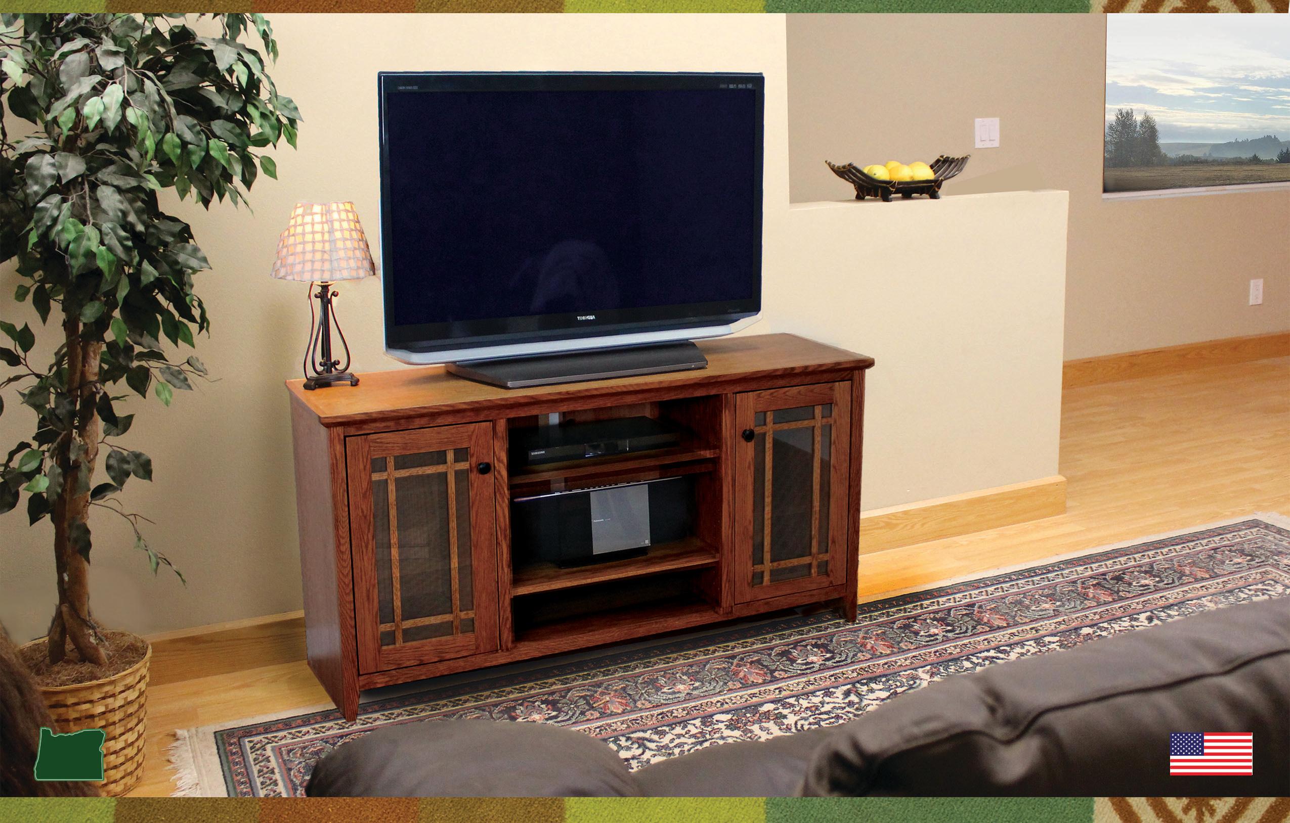 Oakcraft TV Consoles