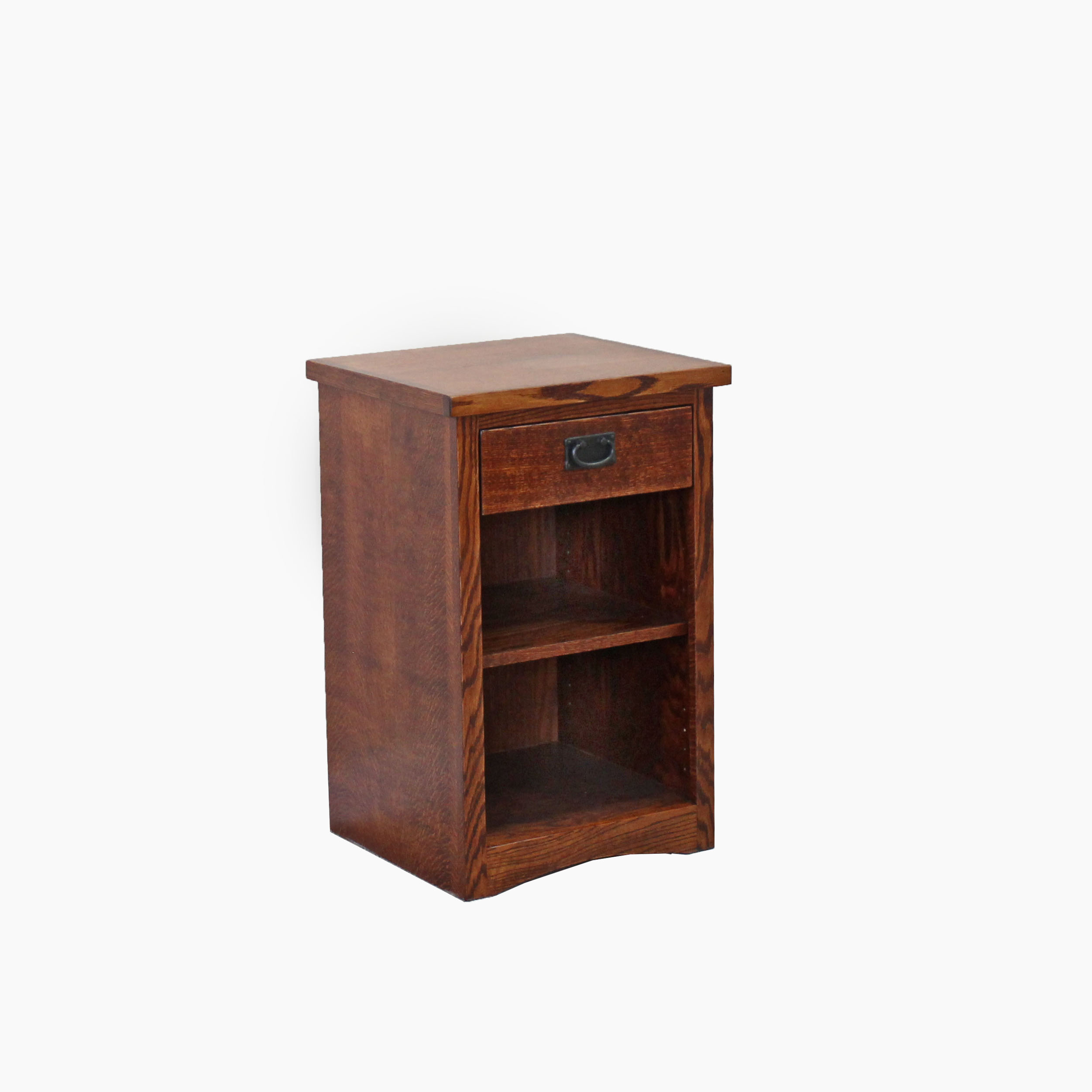 Oak Mission 1 Draw Nightstand