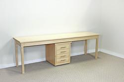 Cascade Natural Maple Work Desk