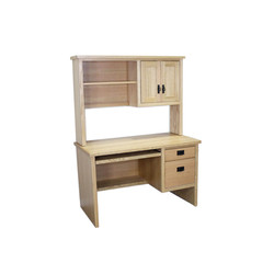 Mission Student Desk and Hutch