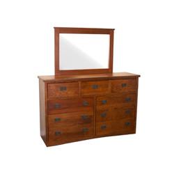 OM1639  9-Drawer Dresser w/ Mirror