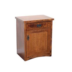 OM1615-D 1-Drawer Nightstand w/ Door