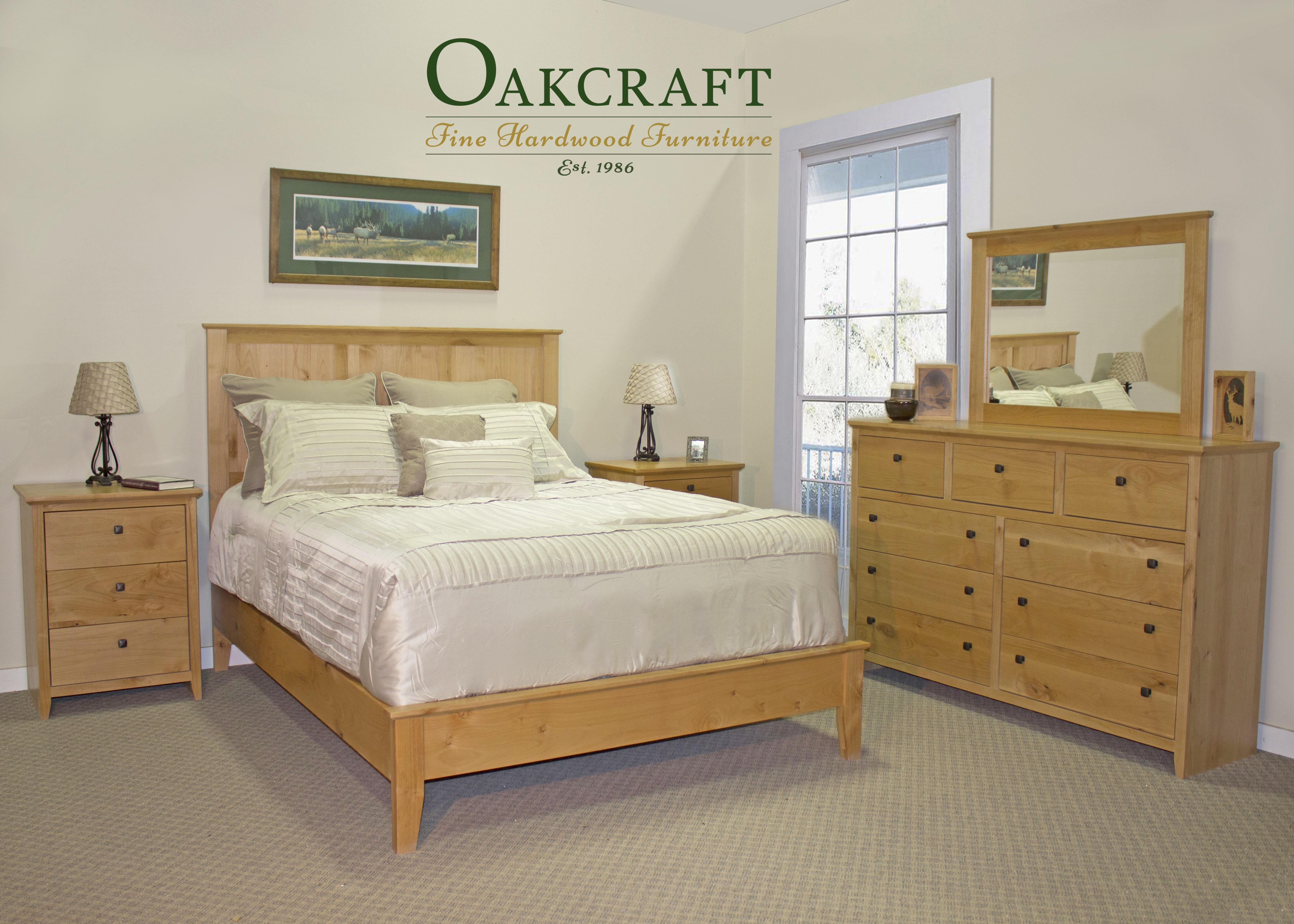 alder shaker style oakcraft bedroom queen northwest oregon. Shaker Bedroom Collection