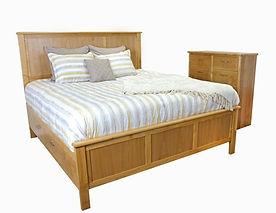 alder urban oregon coast oakcraft style bedroom king