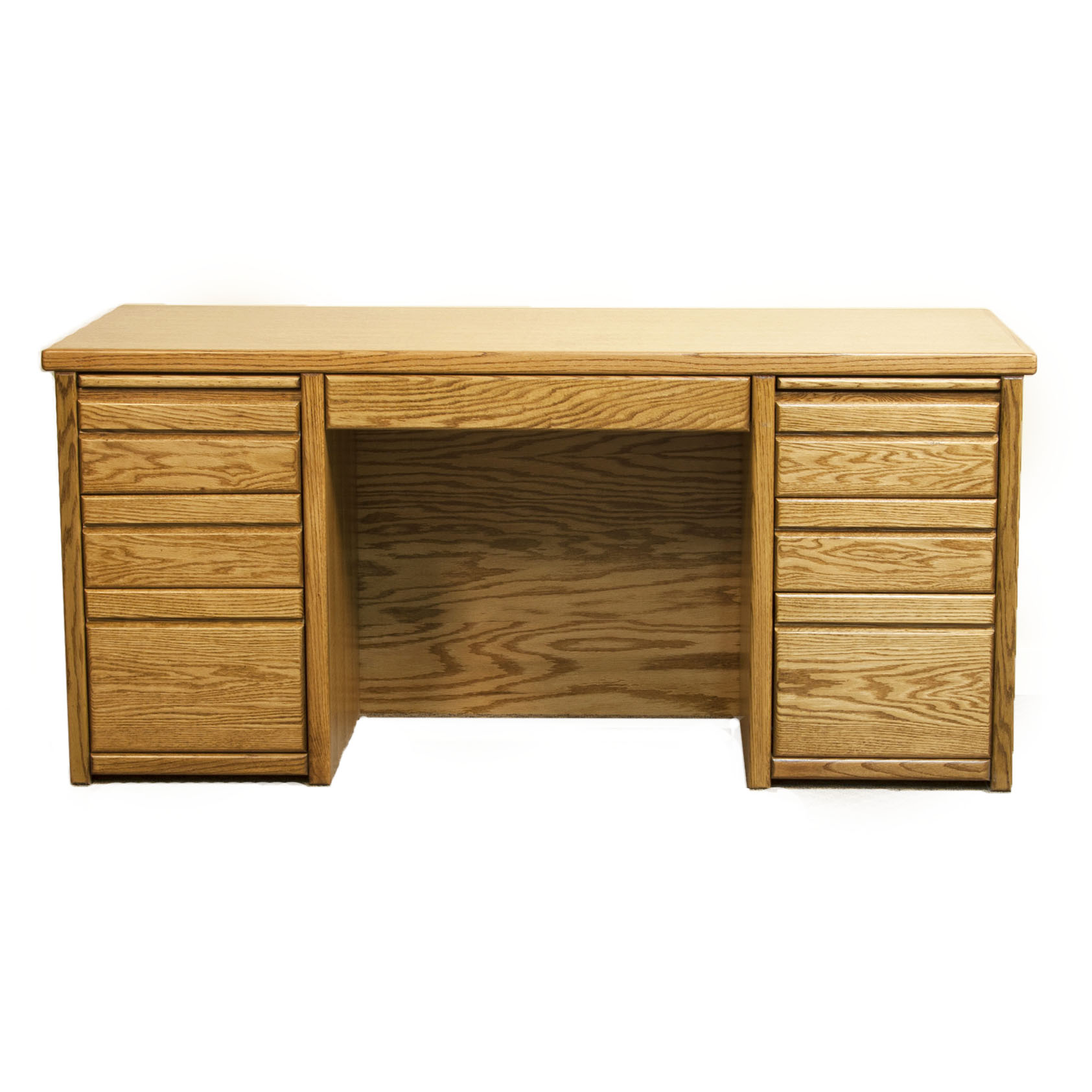 7-Drw Double Pedestal Desk