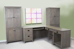 Alder Shaker Office Set
