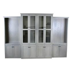 Alder Shaker Custom Bookcases