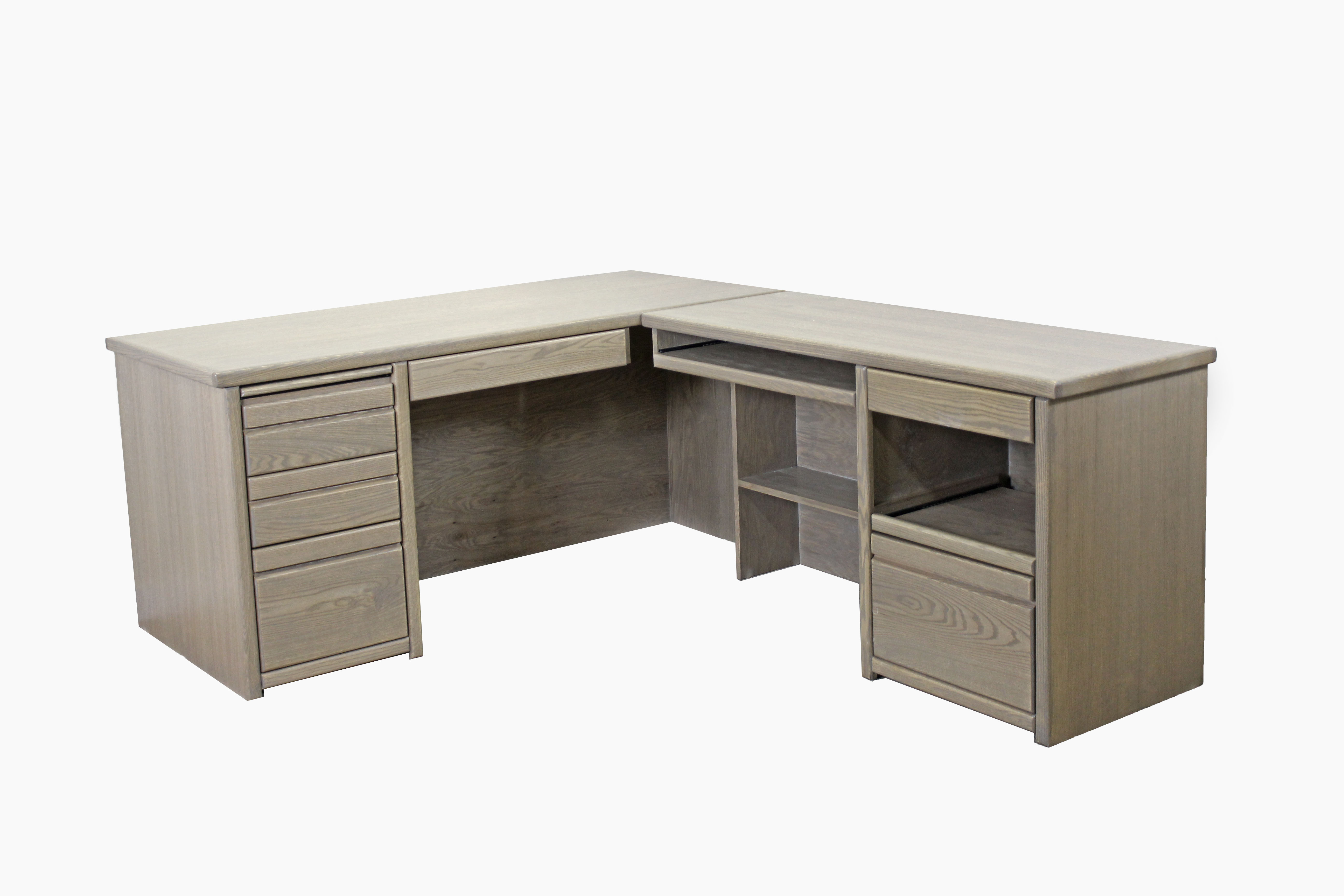 Return Desk w/ Later File/Printer PO