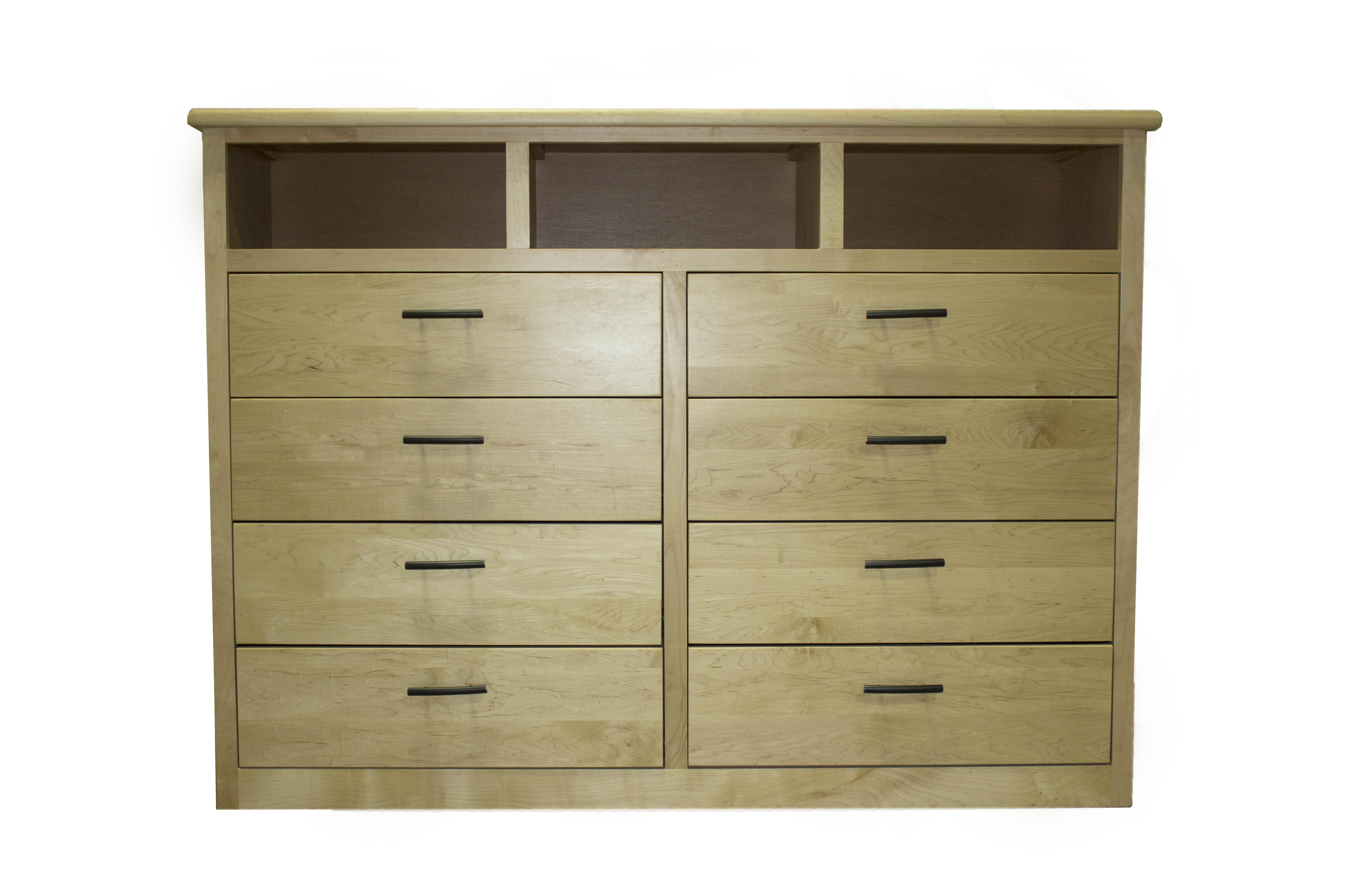 8-Drawer Dresser / TV Stand