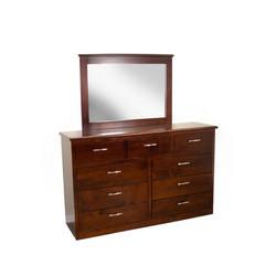 9-Drawer Dresser w/ Mirror