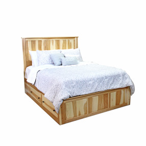 Hickory Storage Bed 4-Drw