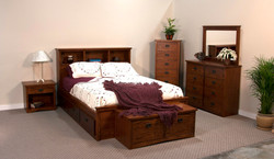 Mission Queen Captains Bed
