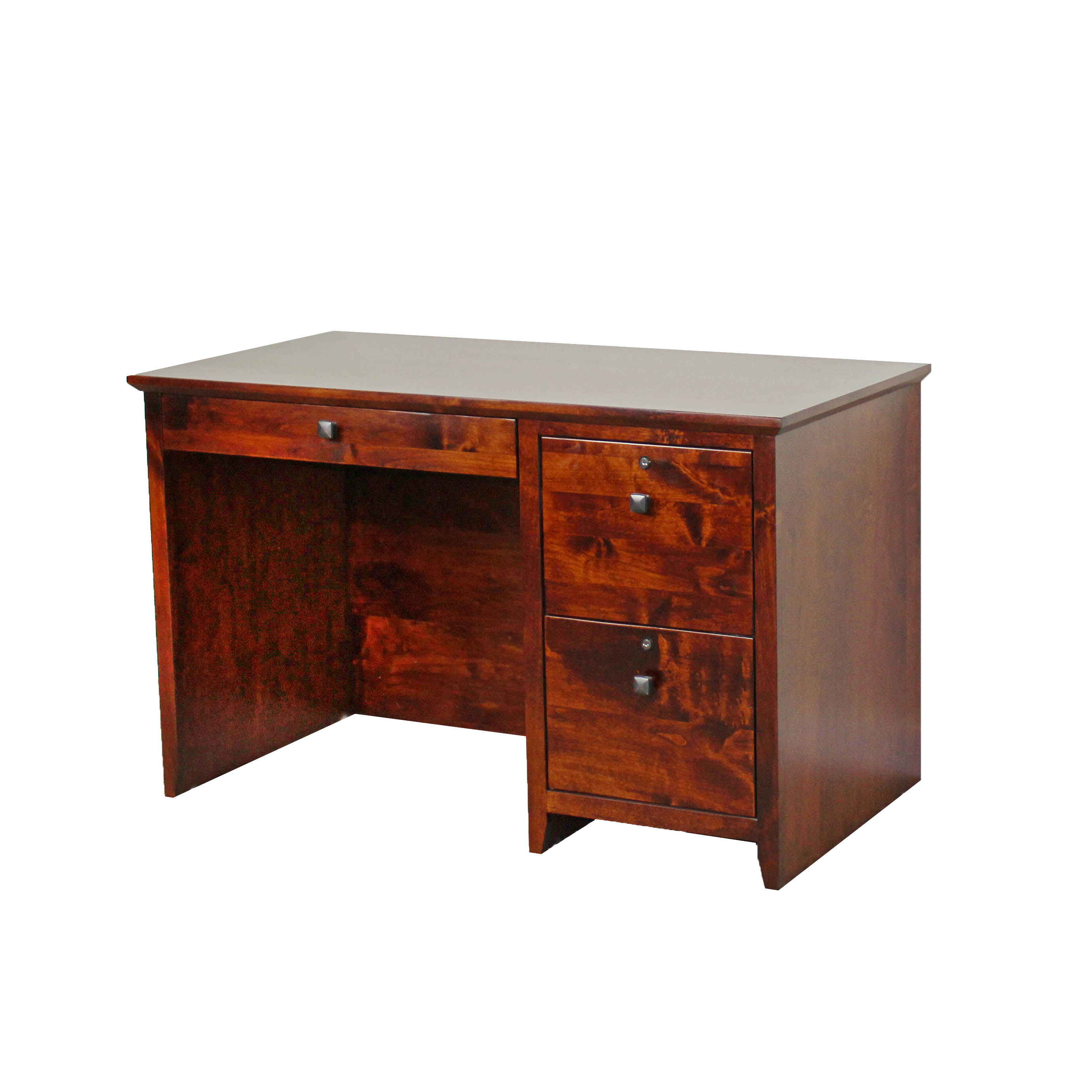 Alder Shaker Custom File Desk