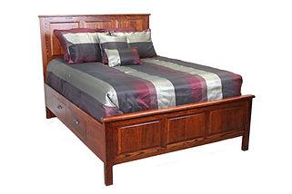 oak bedroom oregon northwest urban style oakcraft