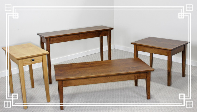 NEW! Oakcraft Occasional Tables