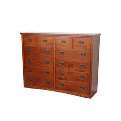 12-Drawer Dresser