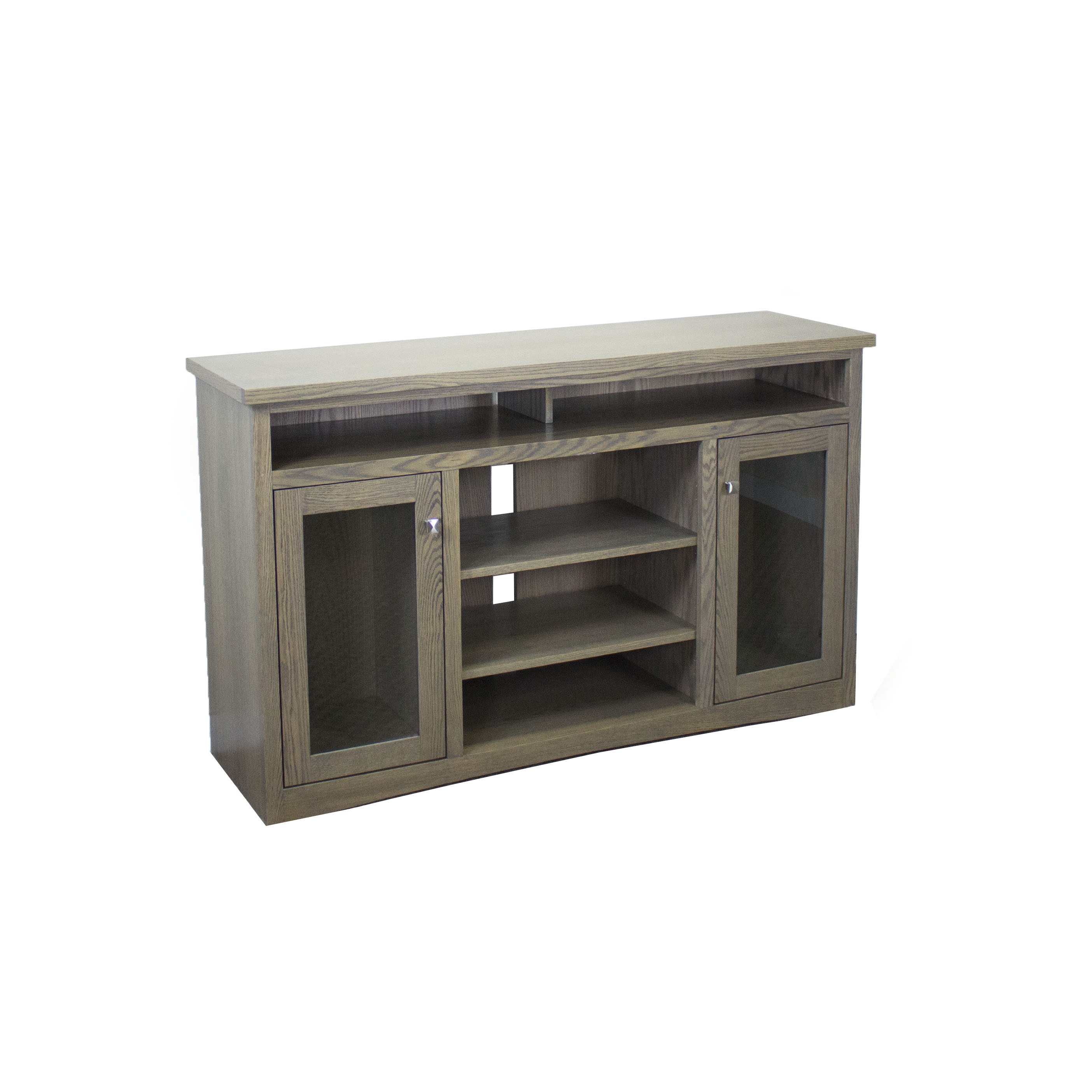 Oak Mission TV Console