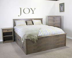 Cal-King 10-Drw Captains Bed