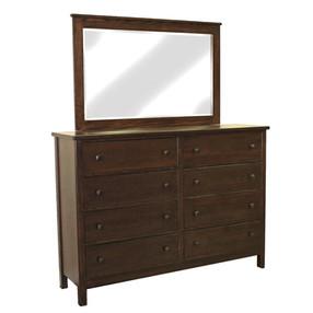 Cascade 8 Drw Dresser + Beveled Mirror