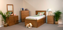 Twin 5-Drw Captains Bed