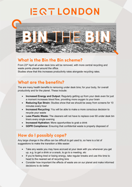 Bin the Bin Info Sheet