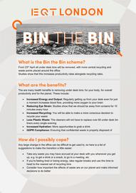 Bin the Bin Info Sheet