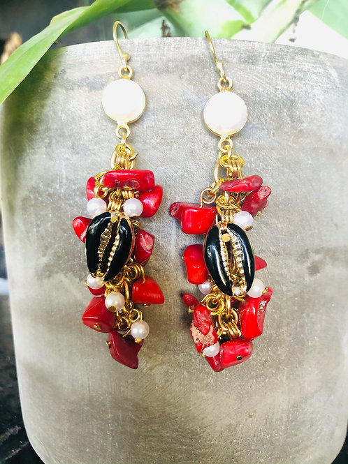 Pele Coral And Pearls