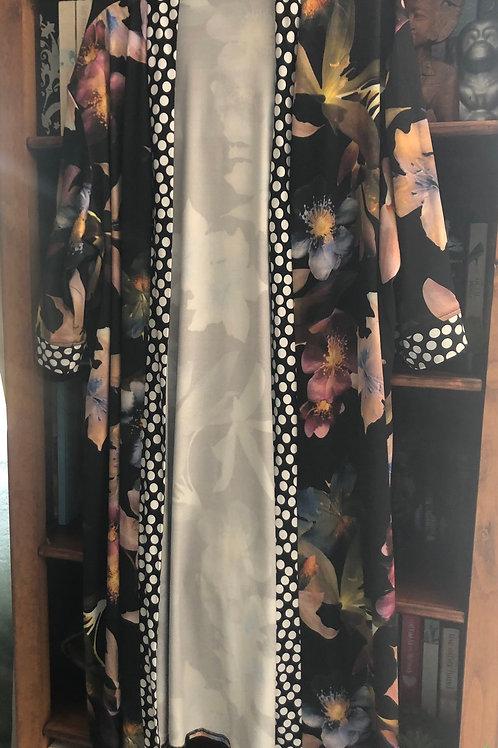 Floral Spot Kimono