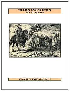 Book cover - Coal Hawking By Packhorses.