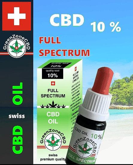 Huile Full Spectrum 10%