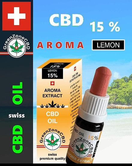Huile Aroma Lemon 15%