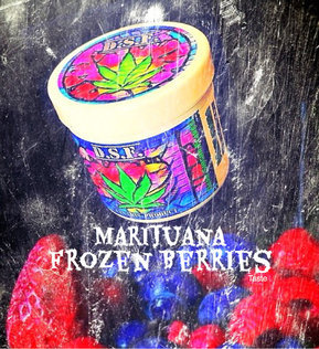 Chicha Gout Marijuana Frozen Berries CBD