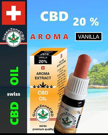 Huile Aroma Vanilla 20%