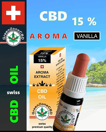 Huile Aroma Vanilla 15%