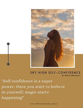Sky High Self Confidence