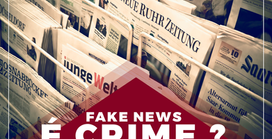 Fake News, é CRIME ?