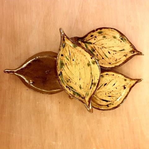 leaf dishes
